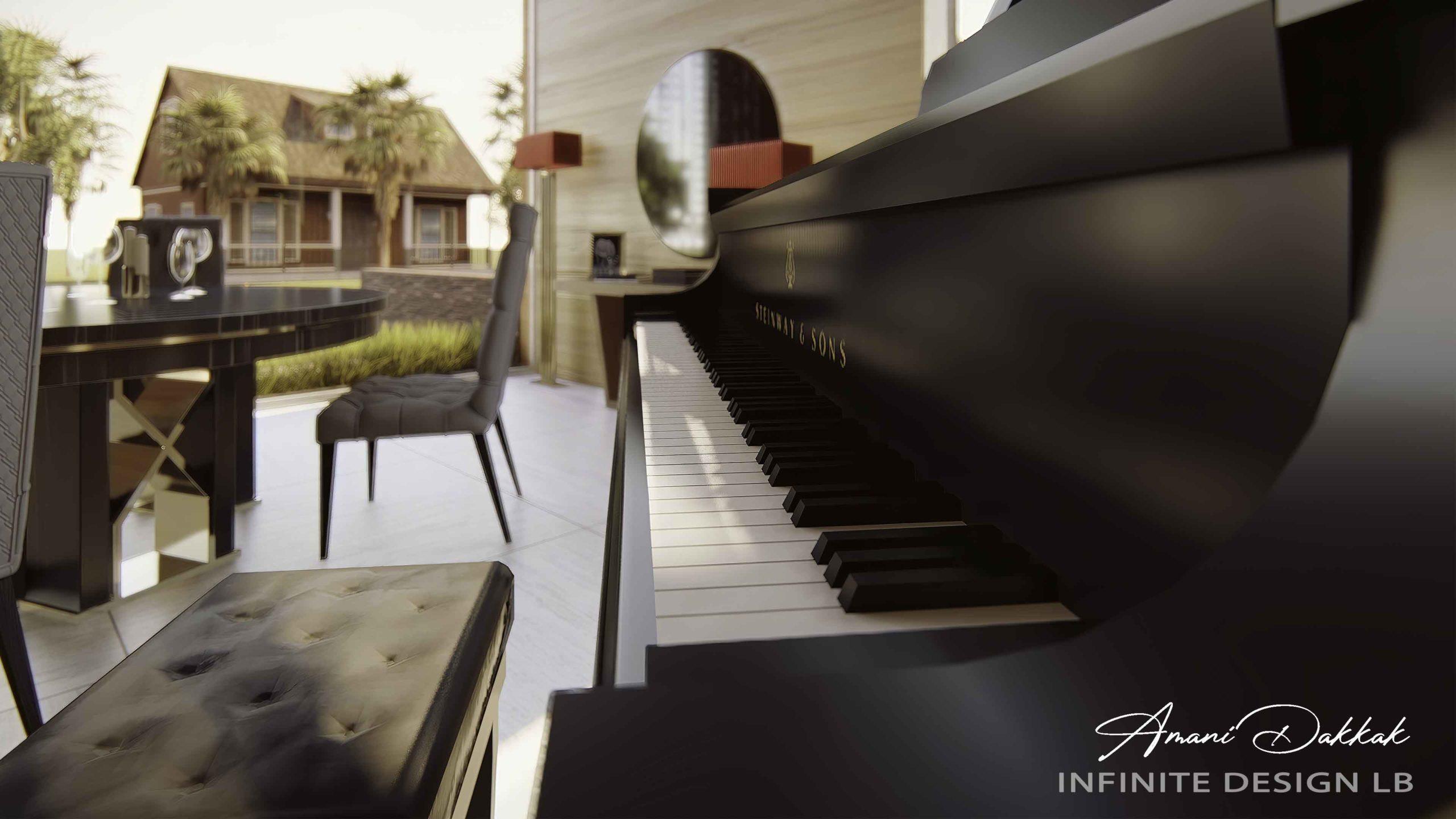Luxury Modern Home Decoration | By Amani Dakkak