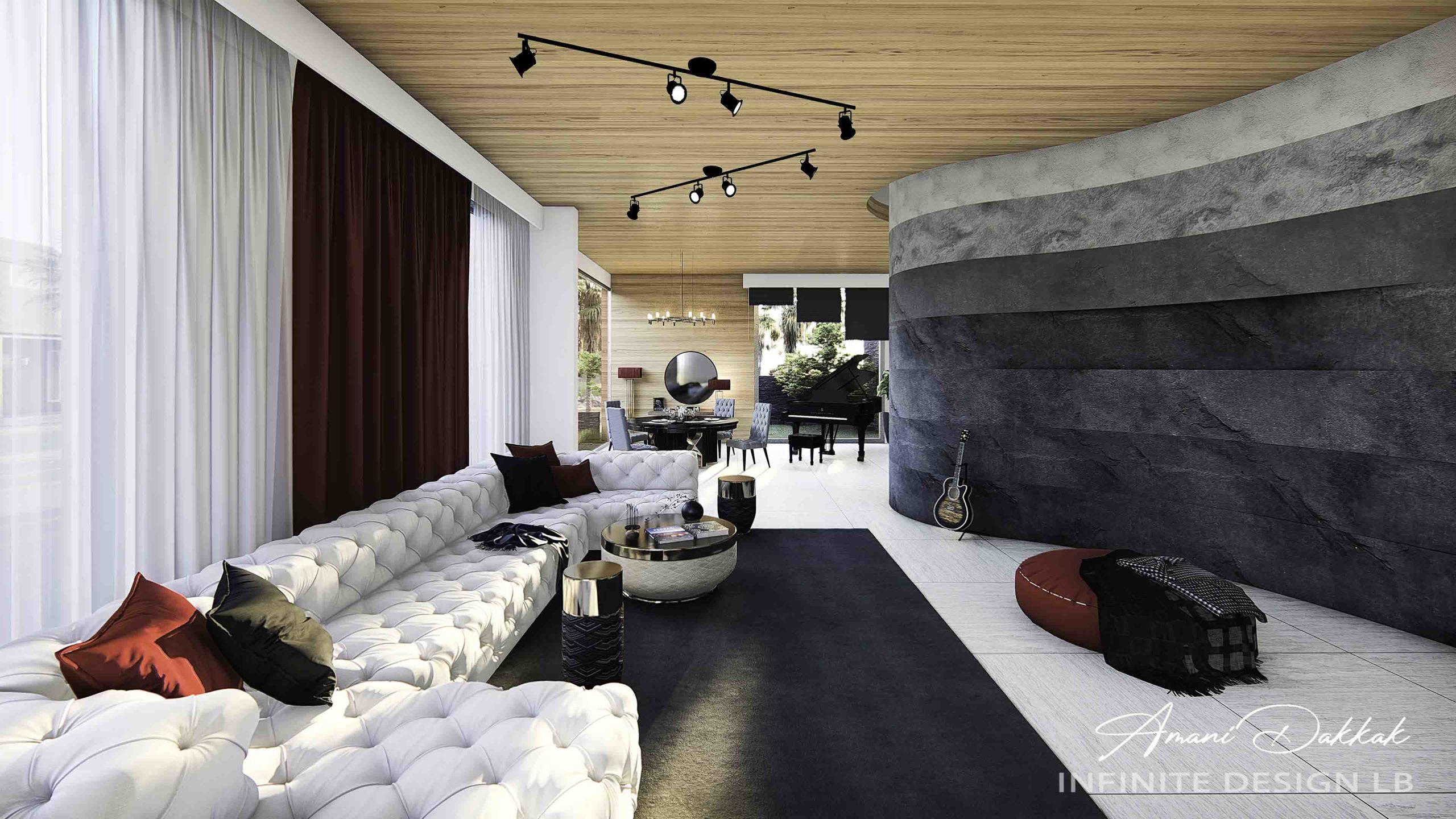 Luxury Modern House Decoration | By Amani Dakkak