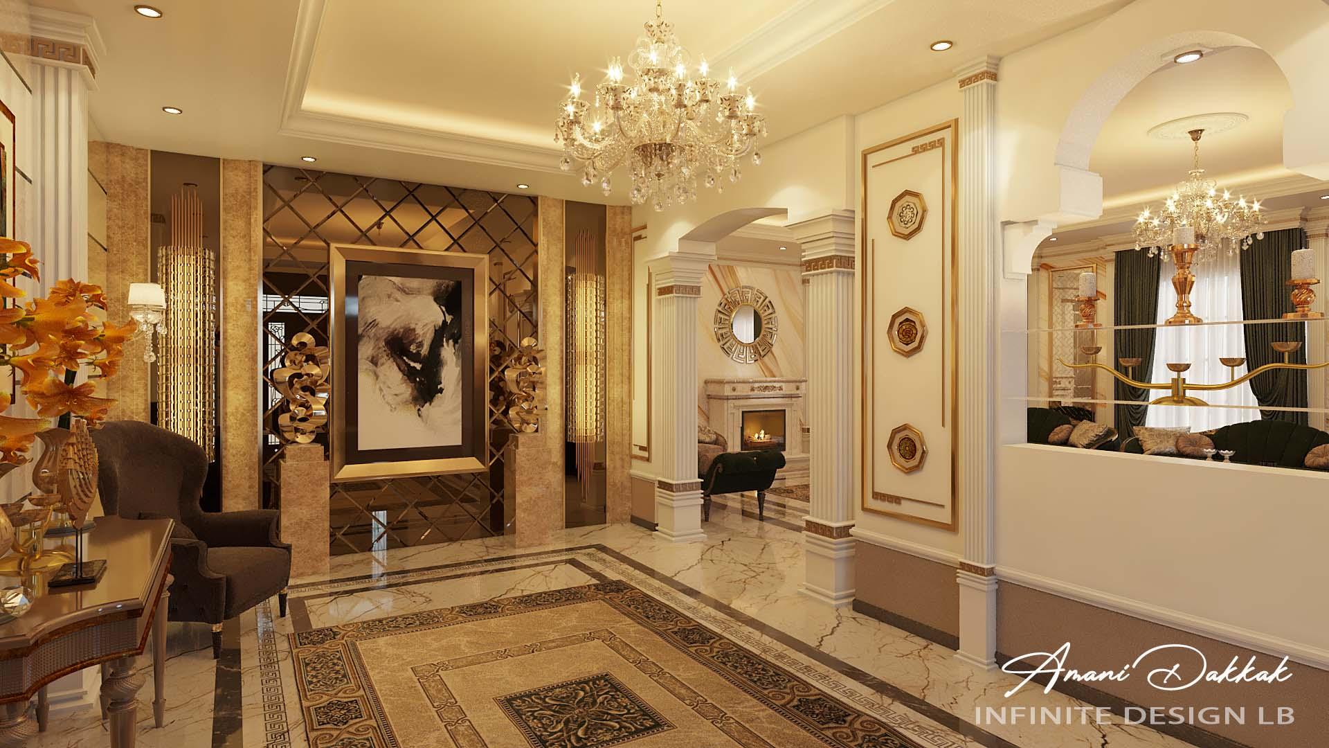 New Classic Interior Design By Amani Dakkak