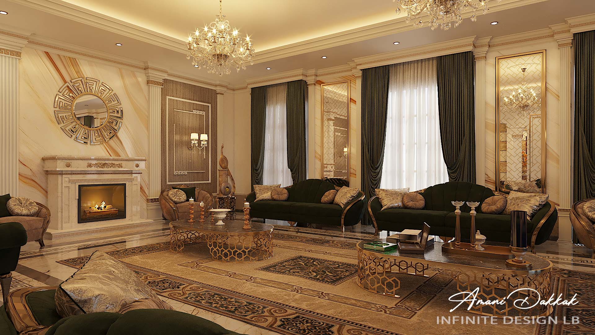 Modern Classic Home Design By Amani Dakkak