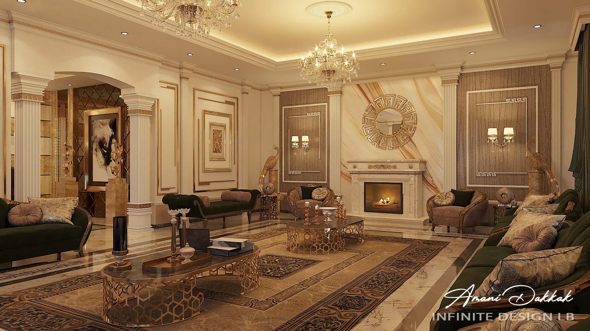 Modern Classic Home Interior Design By Amani Dakkak